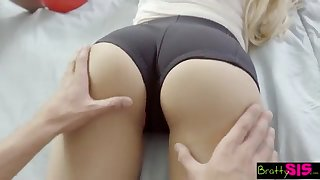 BrattySis - Tricked Insane Sister And Teenager Buddy Into Two Way