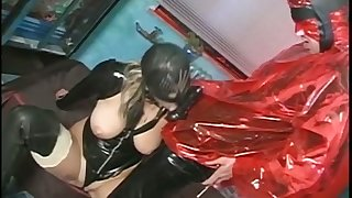 This kinky masked prostitute is a natural tribal cocksucker with a sweet pussy