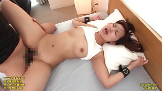Ravishing schoolgirl fucked hard all over the house