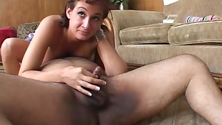 Tory Lane waits for cum from a stinky fat mans small horseshit