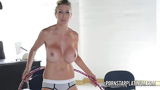 Very Busty mother I´d disposed to to fuck porn star Puma Swede hula hooping naked
