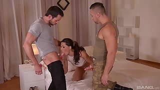 Castle in the air sexual connection at home nearly a handful of horny dudes