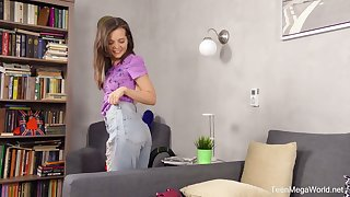 Masturbating with toys effusive hottie called Lizi Vogue is play a joke on watch for sure